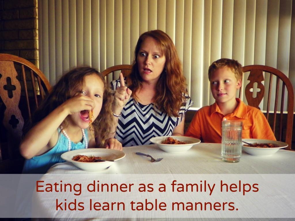 Benefits of the Family Dinner #SharetheTable