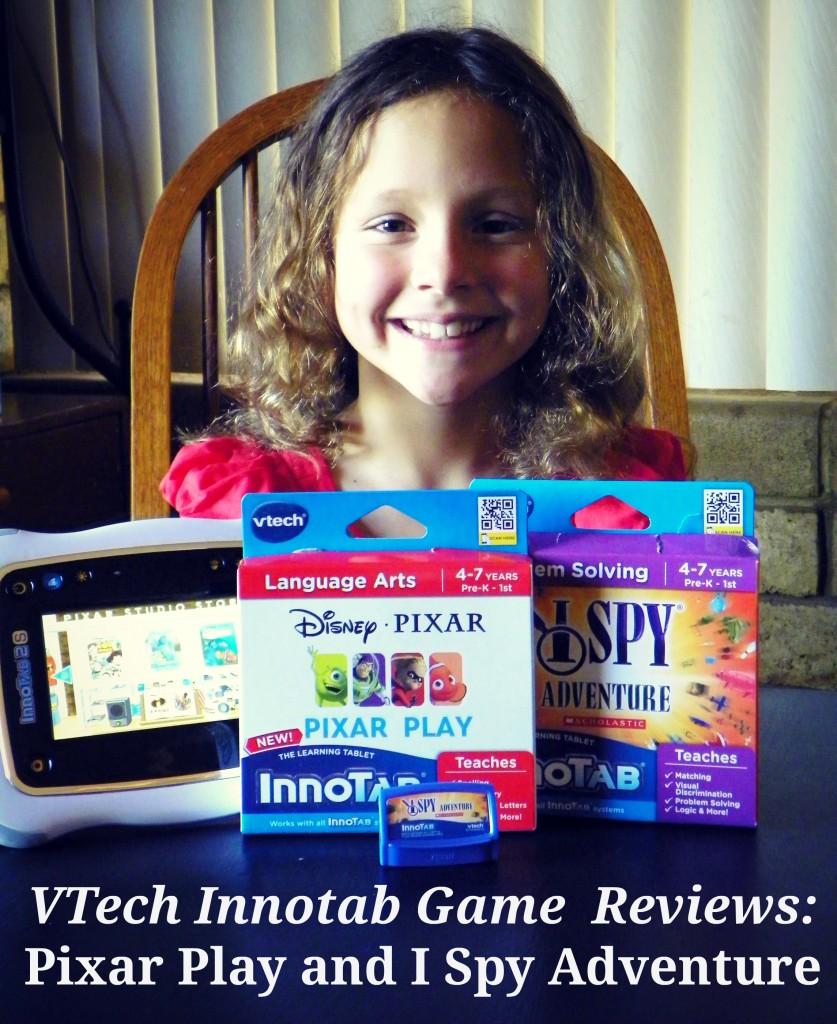 VTech Innotab Game Reviews - Pixar Play and I Spy Adventure