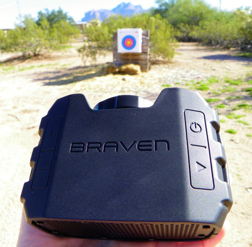 Braven outside