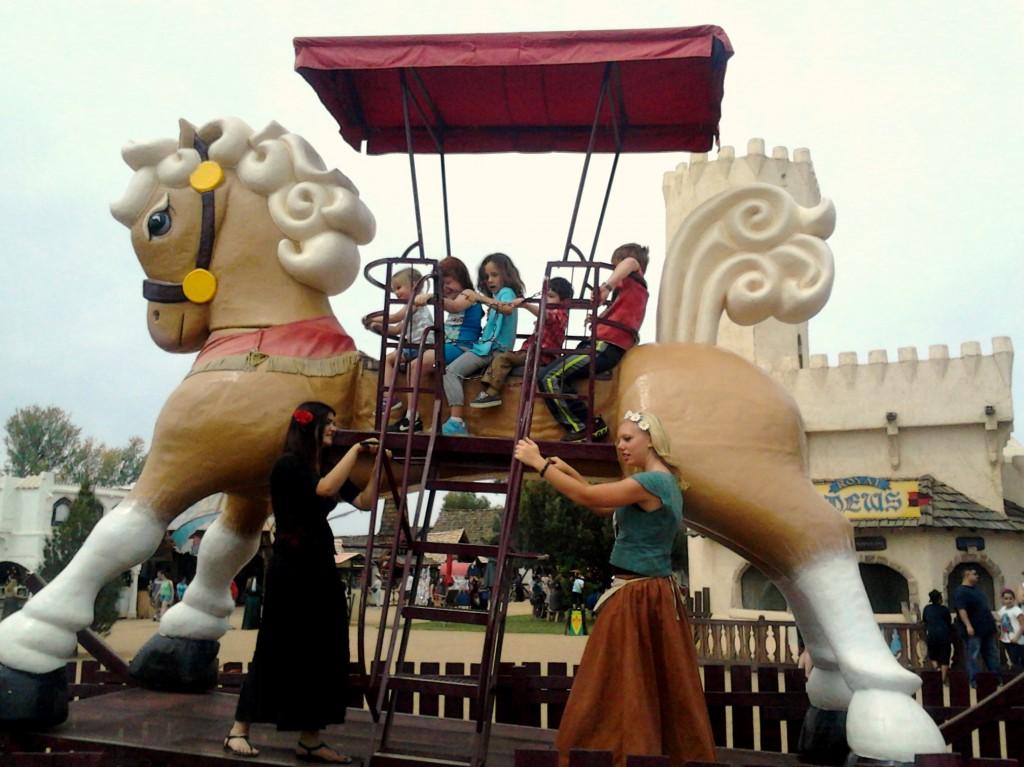 Rocking Horse - The Arizona Renaissance Festival