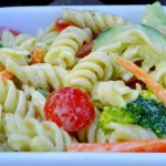 Cucumber Ranch Pasta