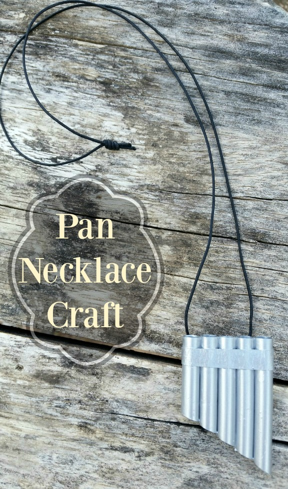 Pan Necklace Craft  Celebrating Family
