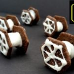 Star Wars Tie Fighter Cookies