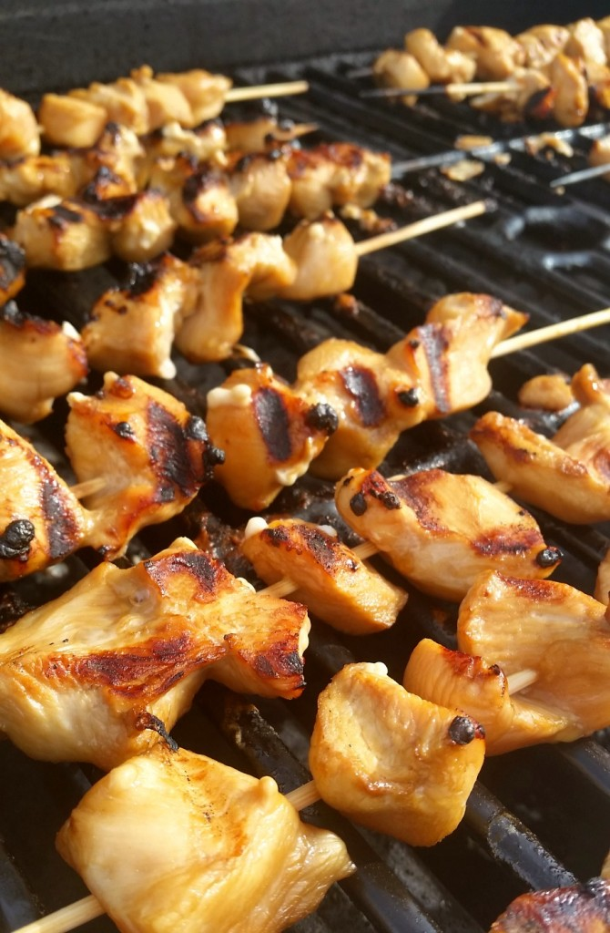 Coca-Cola Marinated Chicken Skewers