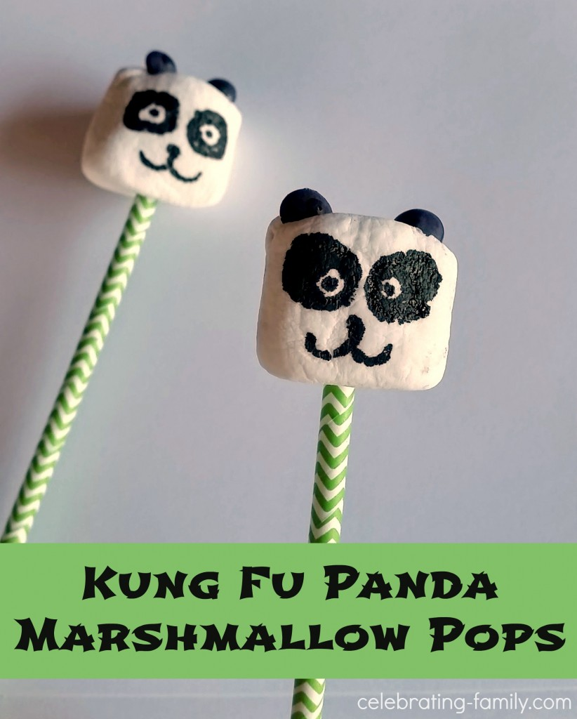 Panda Marshmallow Pops 2