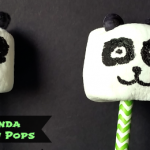Kung Fu Panda Marshmallow Pops