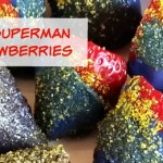 Batman vs Superman Candy Strawberries