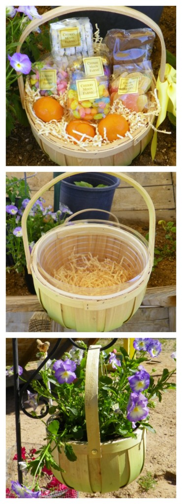 Easter basket repurpose project