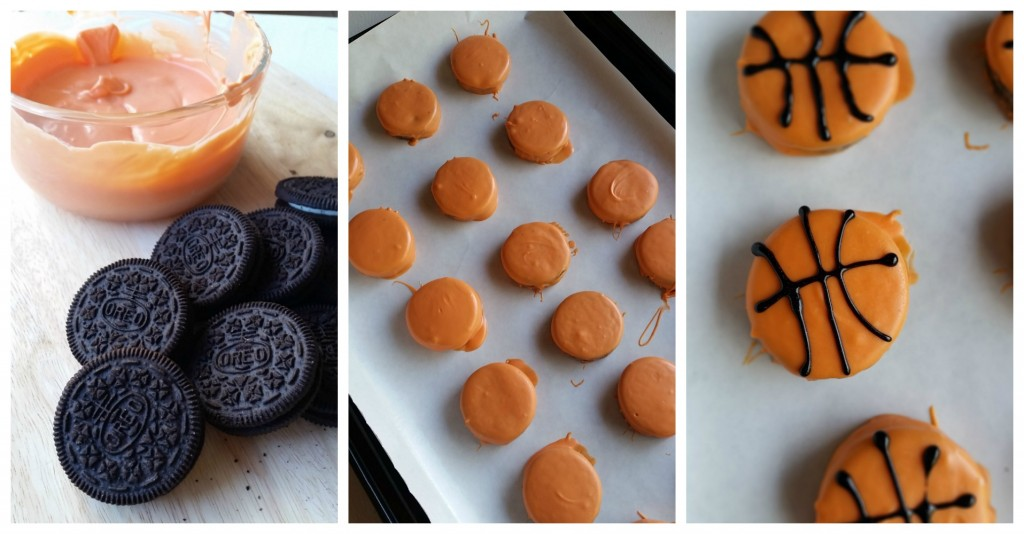 OREO basketballs. Hosting a Championship Worthy Basketball Party