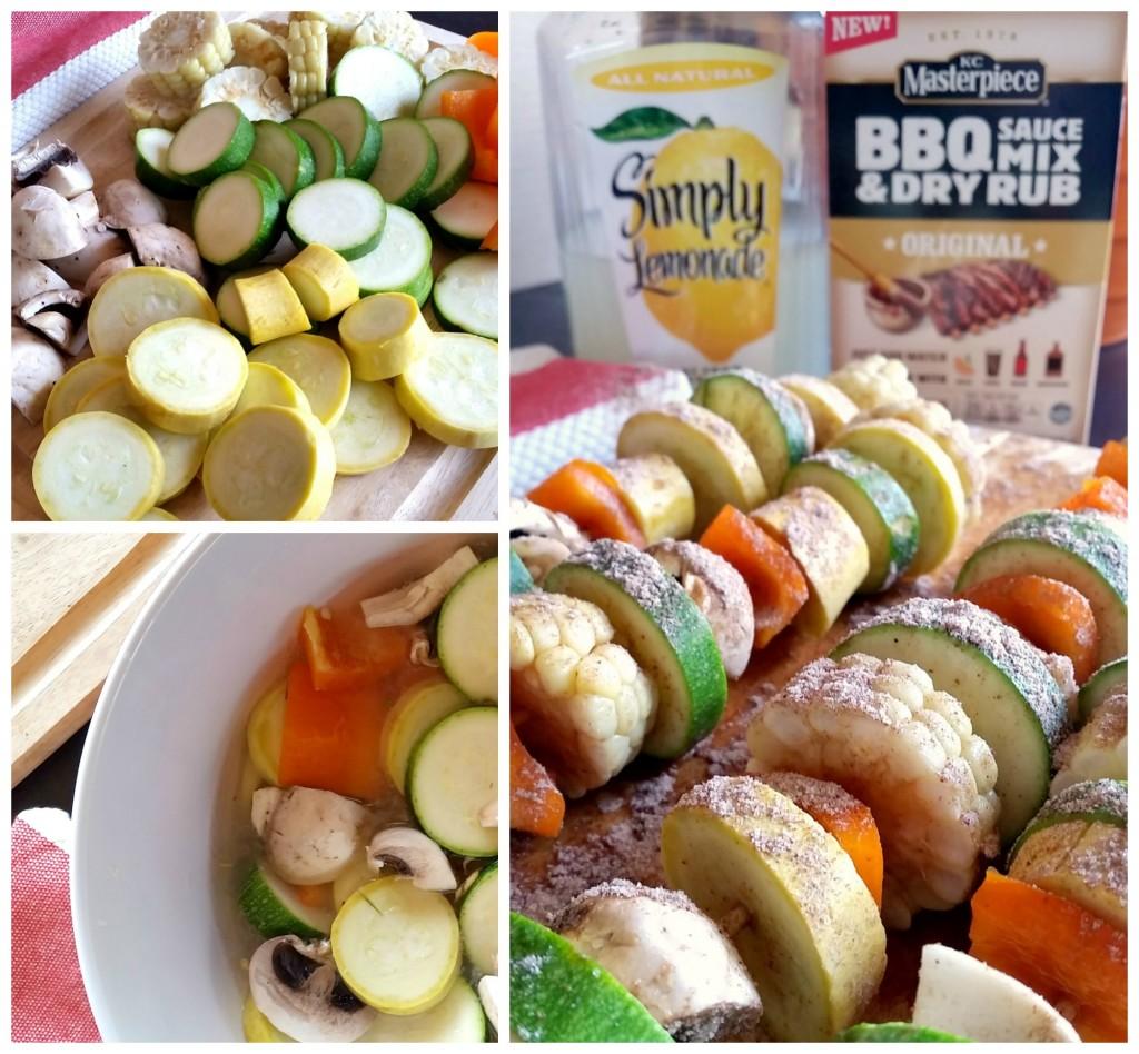 Veggie Kabobs #BestSummerBBQ