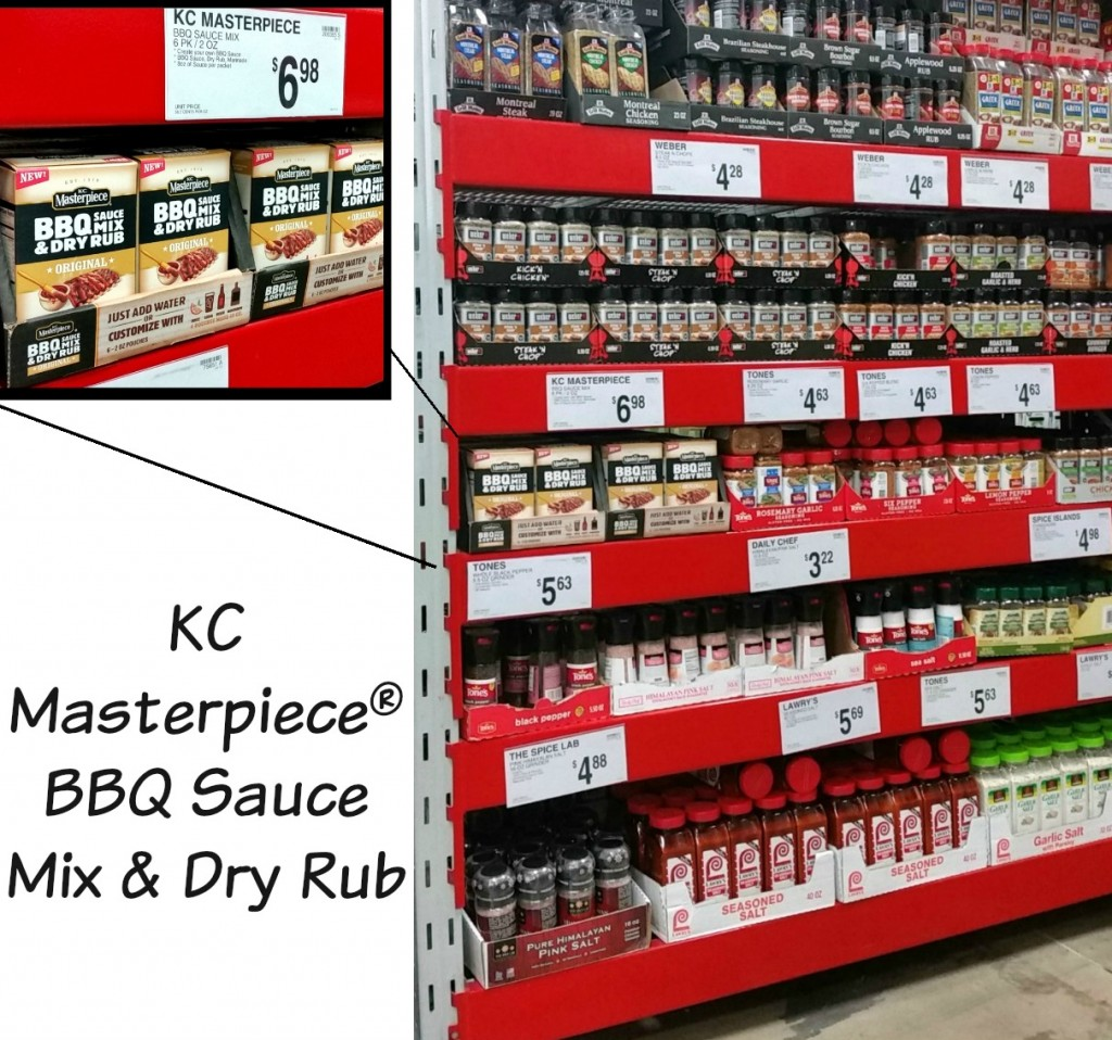 Where is it KC Masterpiece® BBQ Sauce Mix & Dry Rub
