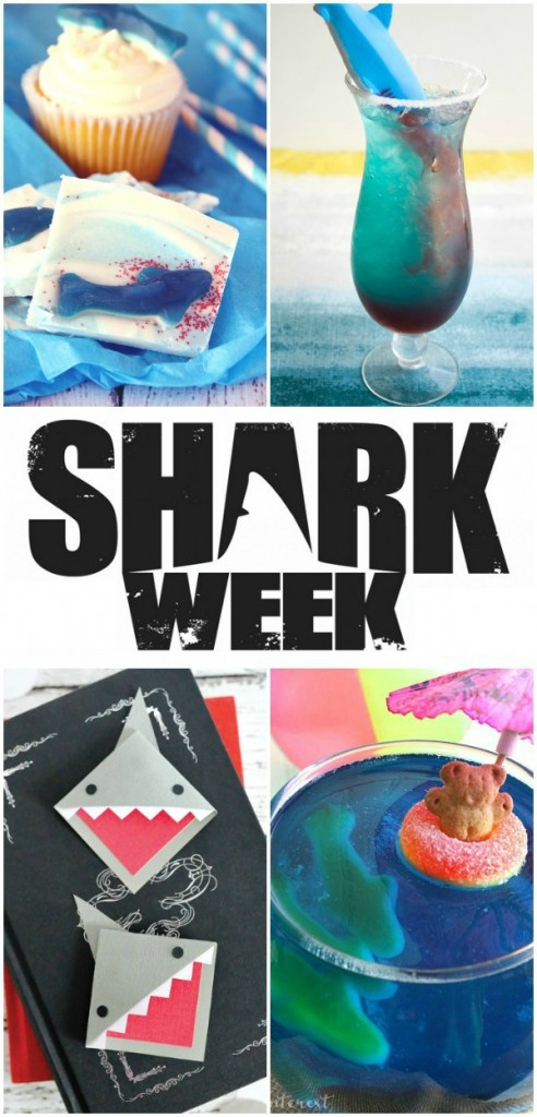 Shark Week Crossword Puzzle Activity plus 5 more ideas