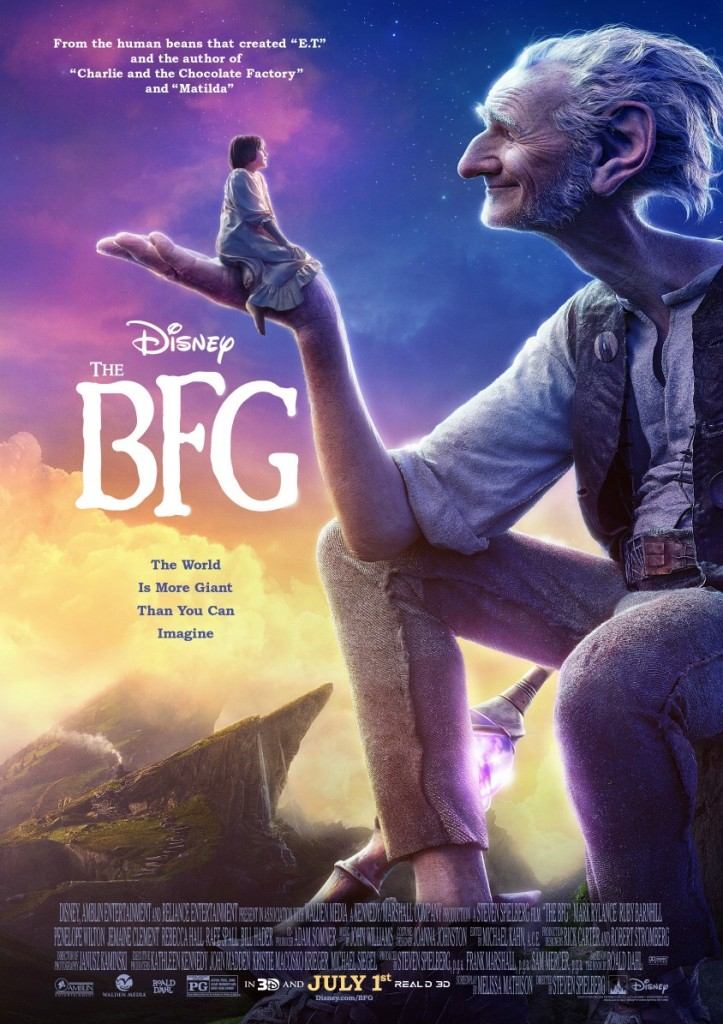 Disney's the BFG (Movie Review and Gobblefunk Word Search)
