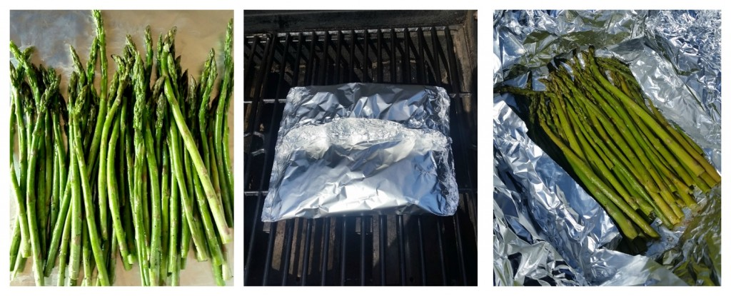 Grilled Asparagus - Vegetarian Tailgating