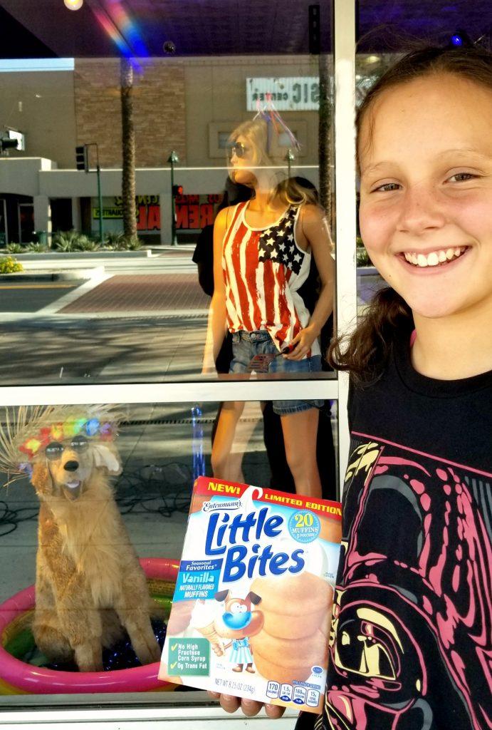 Entenmann's Little Bites Vanilla Muffins
