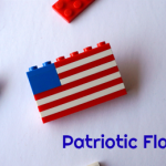 Patriotic Flag Pin Craft in Honor of #USOCarePacks