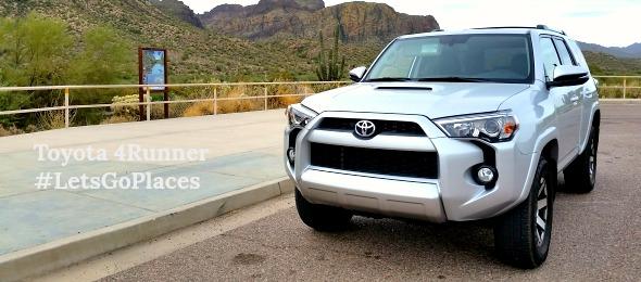 Toyota 4Runner front shot