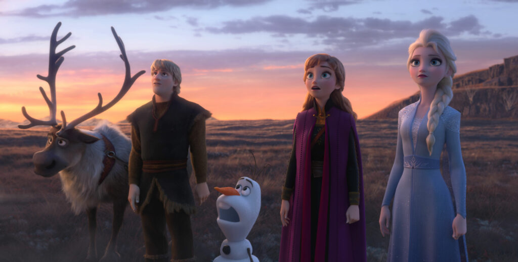 Frozen II is a sequel that moves the story forward, but it is also an origin story