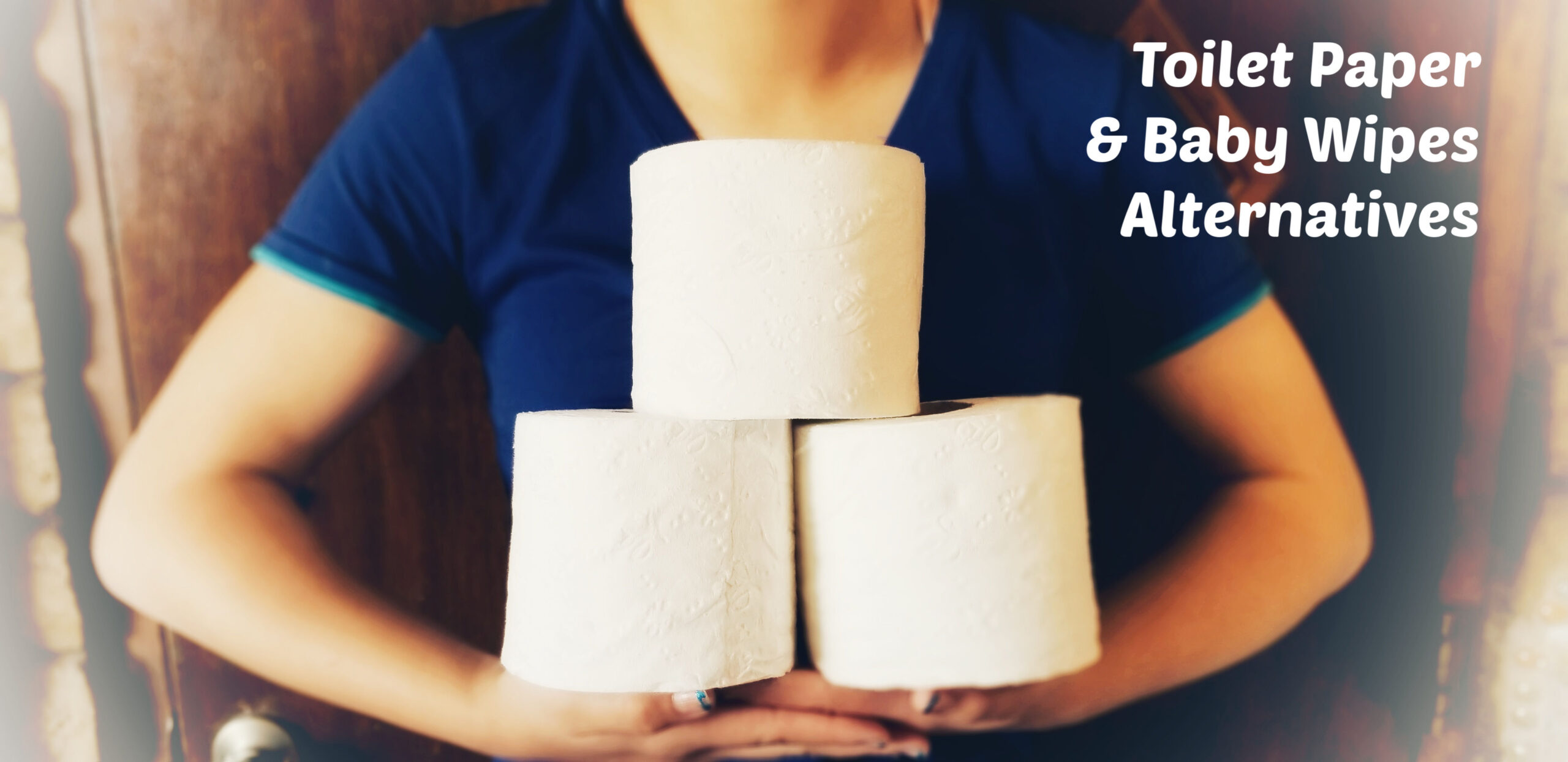 Toilet Paper and Baby Wipes Alternatives