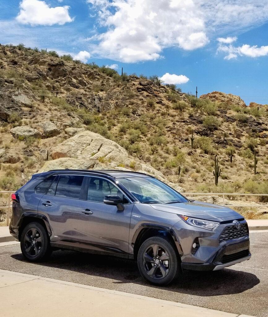 2020 RAV4 Hybrid Parked