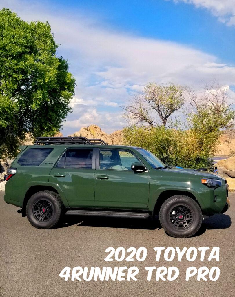2020 Toyota 4Runner TRD PRO at Watson Lake