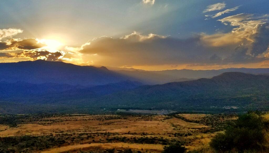 Sunset at Sunset Point Arizona