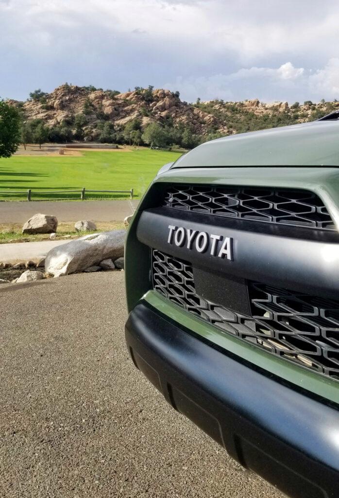 2020 Toyota 4Runner TRD PRO grill shot