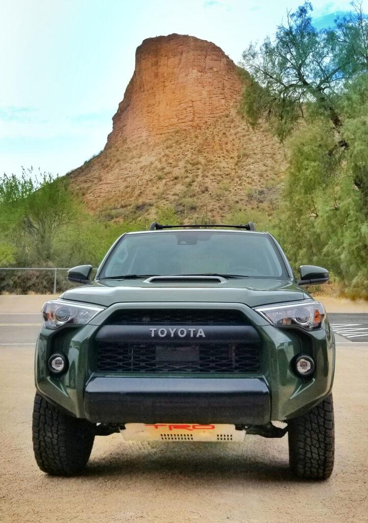 2020 Toyota 4Runner TRD PRO at Tortilla Flat Arizona