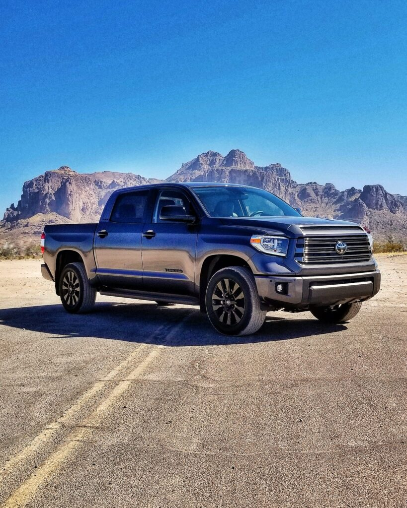 Toyota Tundra CrewMax 4x4 at the Superstition Mountains #celebratingtoyota