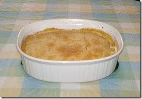 Vegetarian chicken pot pie