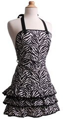 Zebra by Flirty Aprons