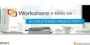 Workshare lanzó su nueva versión Workshare 9 64-bit GA