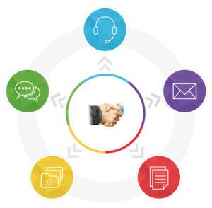 zoho cliq 300x294 - Zoho innova la comunicación empresarial con Cliq Aptus Legal
