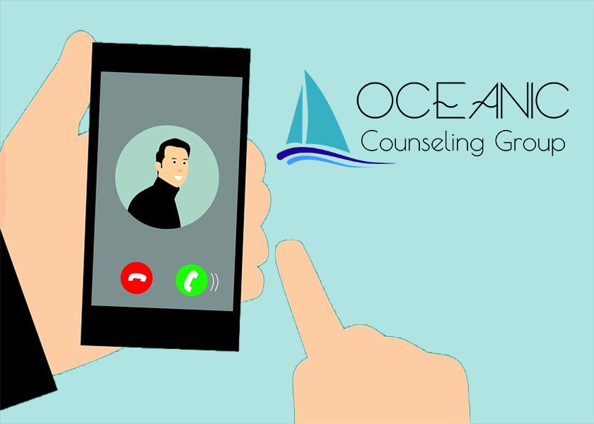 Counseling in Myrtle Beach now becomes counseling from your phone in case you're out of town!