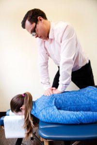 Chiropractic adjustment ballard