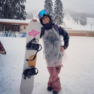 Khai snowboard