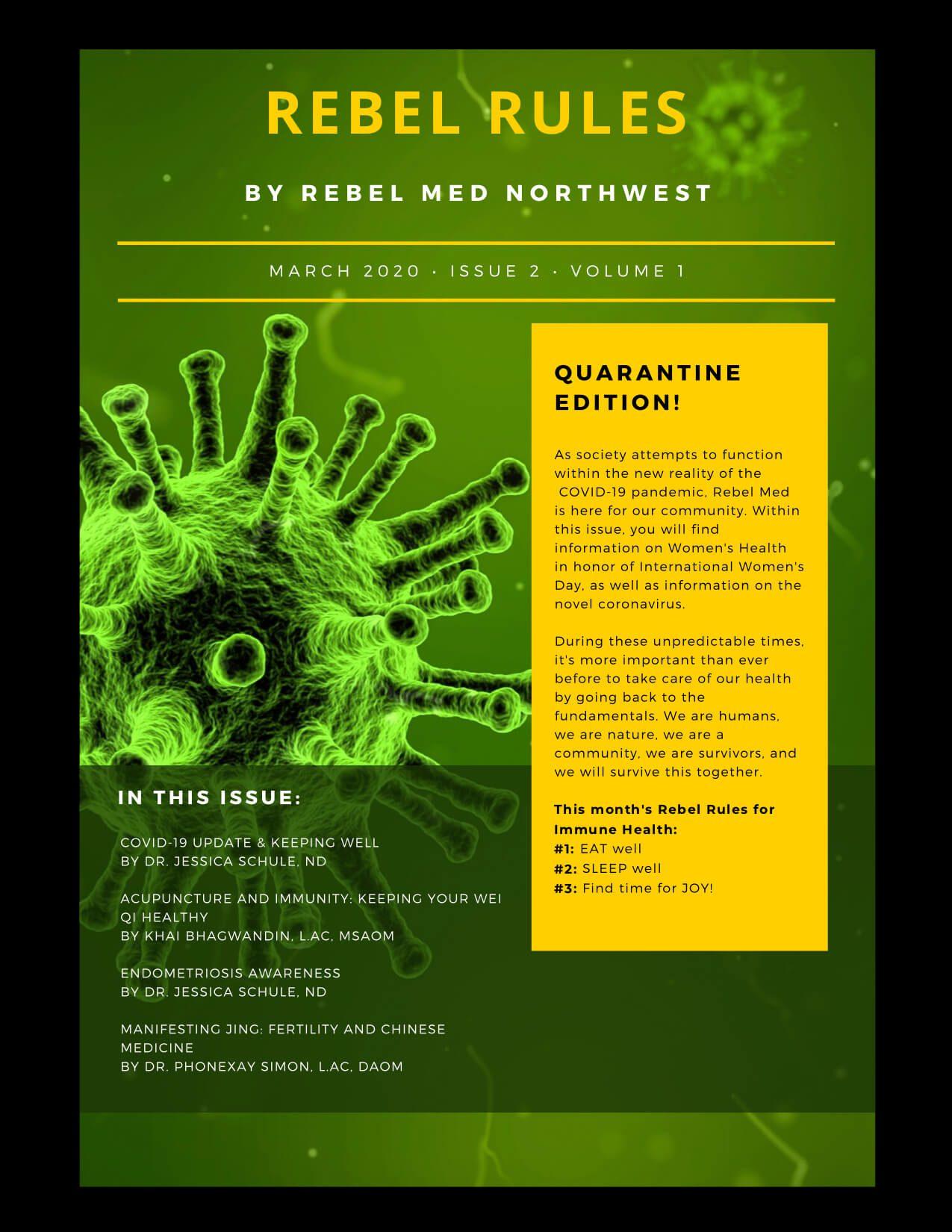 Coronavirus: quarantine edition