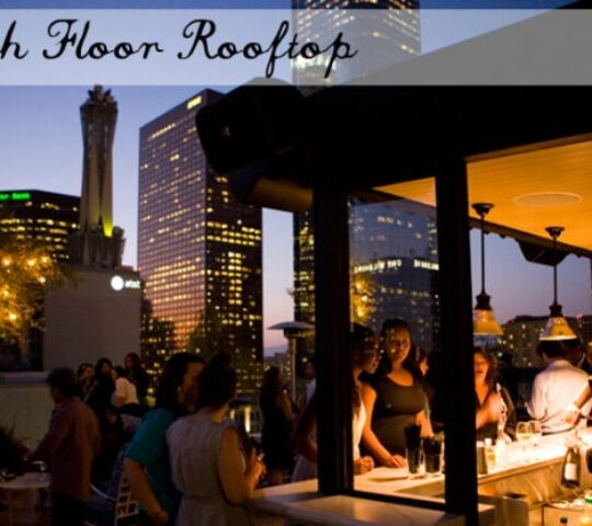Perch (Rooftop with an amazing DTLA skyline and view)