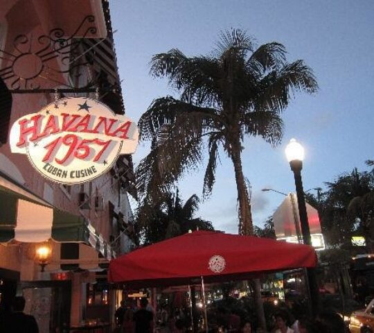Havana1957 on Espanola Way