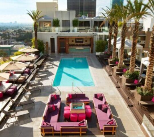 The W Hotel in Hollywood