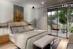 Diseño Habitación Matrimonial - Sauce