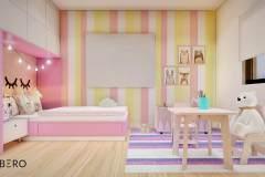 Diseño para dormitorio infantil - Vivienda Santa Isabel