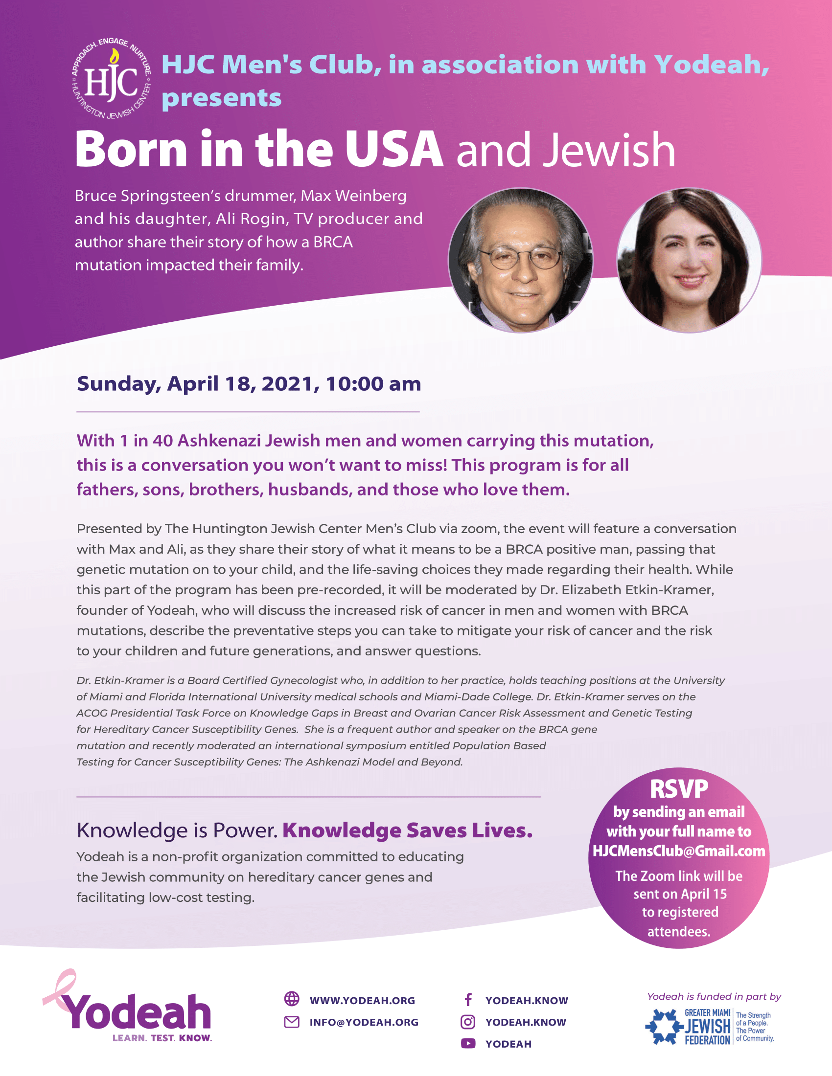 Born in the USA and Jewish
