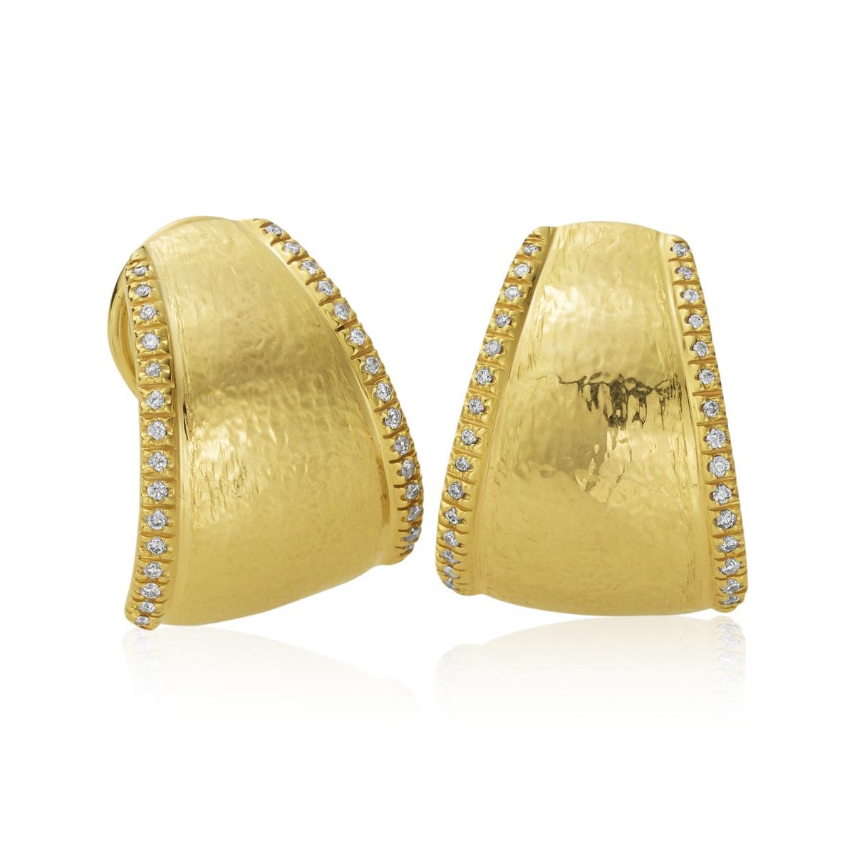 The Jewel - Mazza - Lookbook - Gold Earrings