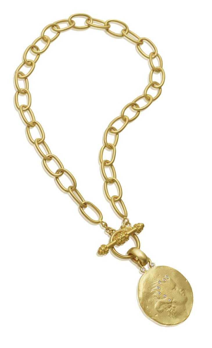 The Jewel - Mazza - Lookbook - Gold Necklace