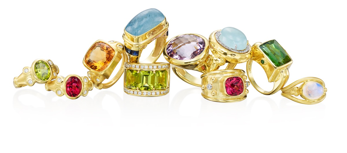 The Jewel - Mazza - Lookbook - Colorful Gold Rings