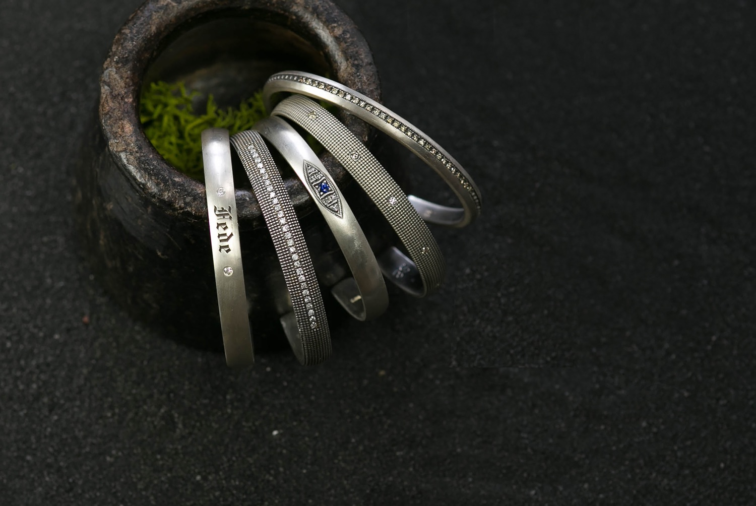 The Jewel - Suneera - Lookbook - Silver Bracelets