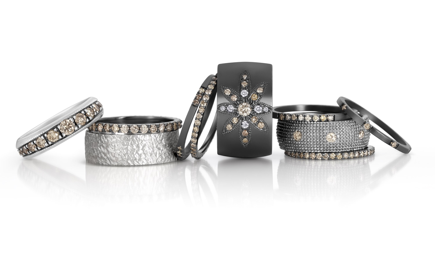 The Jewel - Suneera - Lookbook - Silver Cuff Bracelets