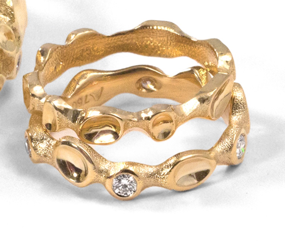 The Jewel - Audrius Krulis Designer - Lookbook - Gold Band Ring