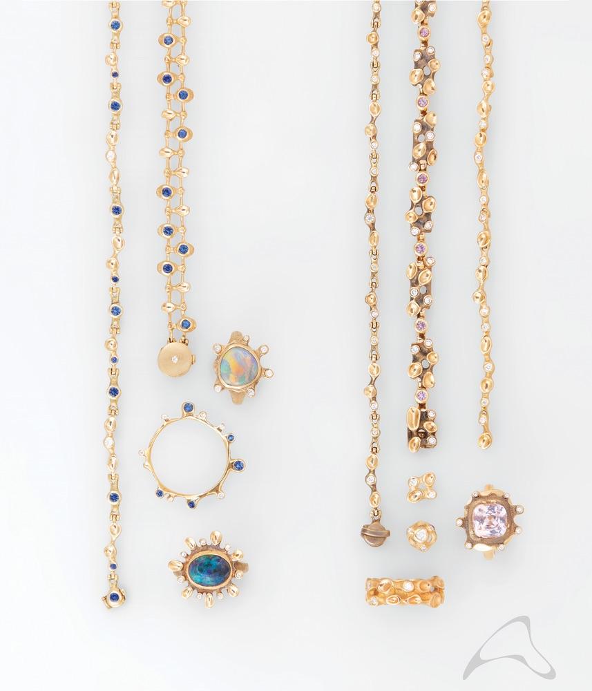 The Jewel - Audrius Krulis Designer - Lookbook - Colorful Gemstone Jewelry